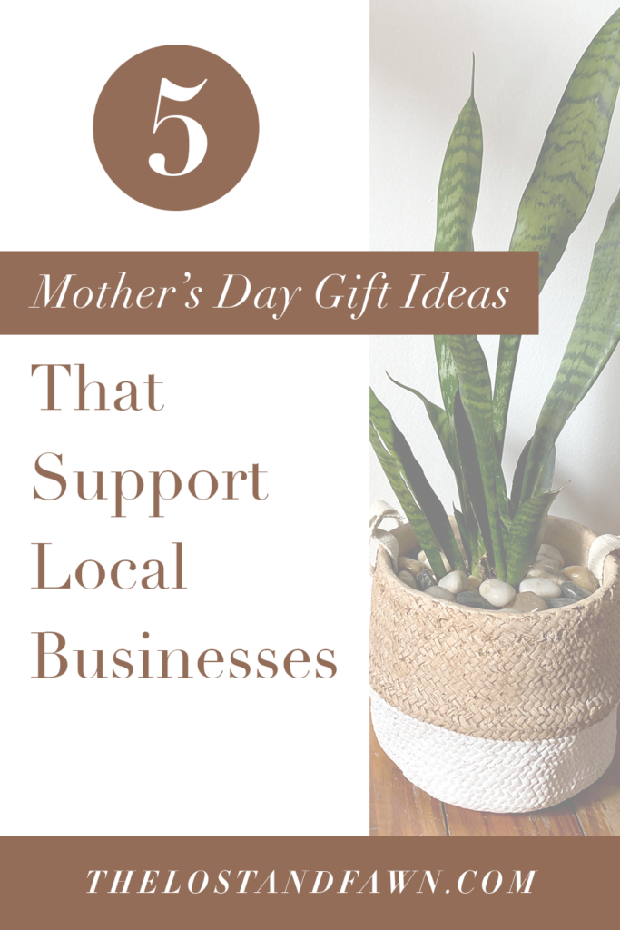 5 Mother's Day Gift Ideas Pinterest Image 2