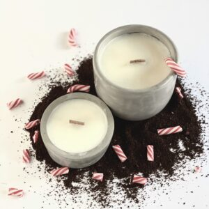 Peppermint Mocha Candles
