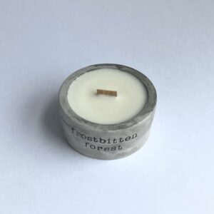 Small Concrete Candles